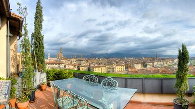 Photo for Stunning Renovated Cental Penthouse w/ Amazing Views! 5 Terraces & 5min to Town
