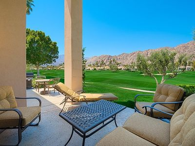 Photo for PGA West Palmer on Shoal Creek, 2nd hole, Golf and Mountain Views