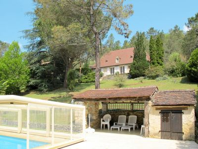 Photo for 3 bedroom Villa, sleeps 6 in Vialot with Pool and WiFi