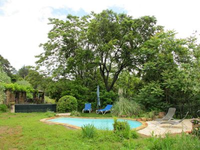 Photo for Vacation home Ferienhaus mit Pool (AMS100) in Ampus - 4 persons, 2 bedrooms