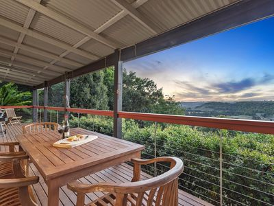 Photo for 2 bedroom House with  outdoor dining table &  BBQ. Pet & Family Friendly