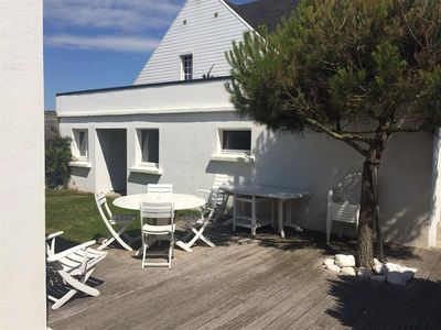 Photo for Contemporary house on one level, 3 bedrooms, garden, on Wimereux 240 meters from the dike