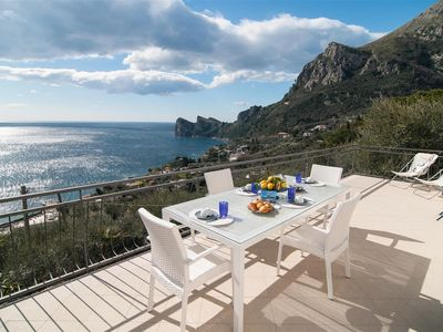 Photo for Peony apartament in Nerano with amazing Sea View