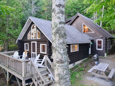 Photo for Log Cabin on North Shore of  Beautiful Rangeley Lake