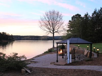 Photo for Easy access lake front W/  beach, waterfront patio and boat ramp