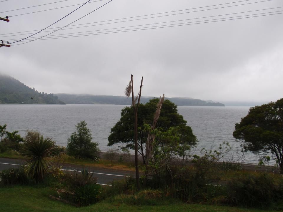 Extensive north facing lake views and 50m to beach