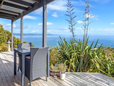 "Photo for Sea-escape ""JUST FOR TWO""  private with absolutely Jaw Dropping Sea Views"