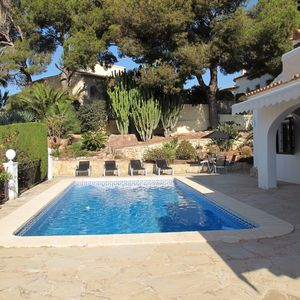 Photo for Villa with private pool , a beautiful mature garden, overlooking the golf course