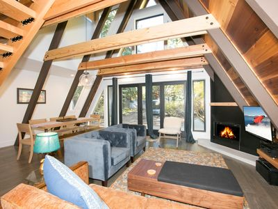 Photo for Sugar Pine  - Contemporary 3 BR West Shore Cabin w/ NEW Hot Tub!