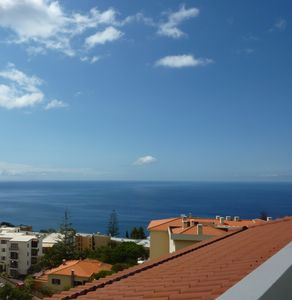 Photo for New top-floor 2-bedroom apartment with private sun terrace with ocean views