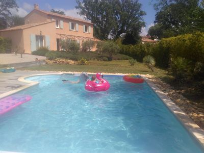 Photo for Villa 12 pers private pool in the Var