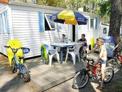 Photo for Camping Le Vieux Port ***** - Mobil Home 4 People