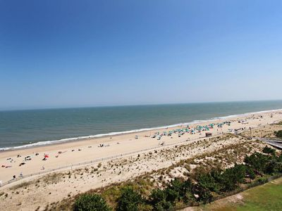 Photo for D904: 2BR Sea Colony Oceanfront Penthouse | Private Beach, Pools, Tennis ...