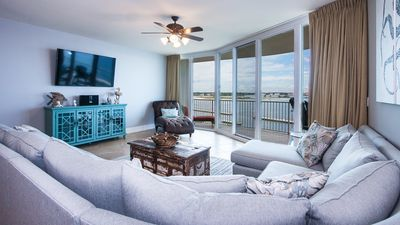 Photo for Bayfront Three Bedroom Condo with Peaceful Bay Views