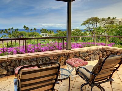 Photo for Lovely Ground Floor 2 BDRM Condo - Starting @ $409.00/night - Wailea Elua #105