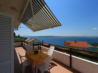 Photo for Holiday apartment with stunning sea view