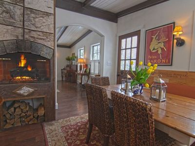 Photo for Luxury Adirondack Living in Lake Placid Village