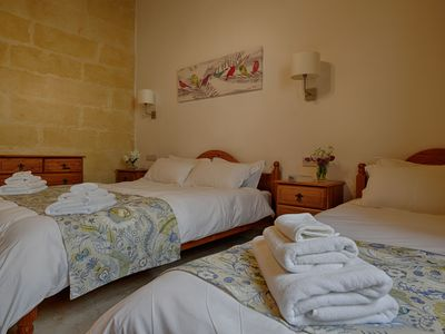 Photo for Gozo Inn Vitoria self catered sleeps 8 with private pool