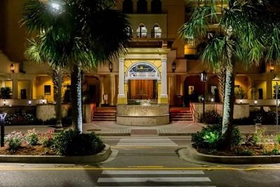 Entrance to the Anderson Grand Spa -Hilton Grand Vacations