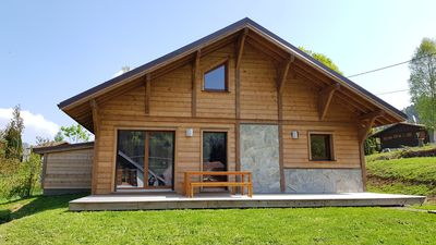 Photo for New Chalet 3 * -The-Clos Gérardmer-comfort-SAUNA BALNEO WIFI