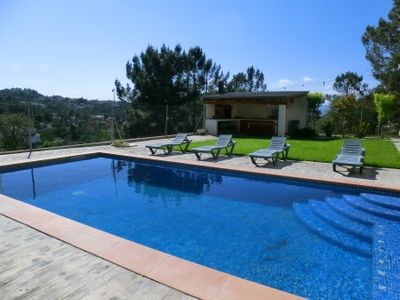 Photo for 4 bedroom Villa, sleeps 8 in Lloret de Mar with Pool, Air Con and WiFi