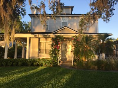 Photo for Lakefront Home With Pool In Charming Olde Winter Park