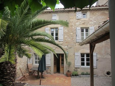 Photo for A 'Hidden Gem', In Its Own Private Walled Courtyard Just Outside Carcassonne