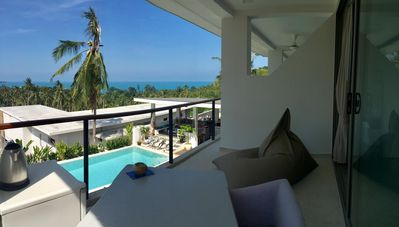 Photo for 3 BEDROOMS IN BEAUTIFUL VILLA, SEA VIEW, POOL, NEAR BEACH CHAWENG NOI