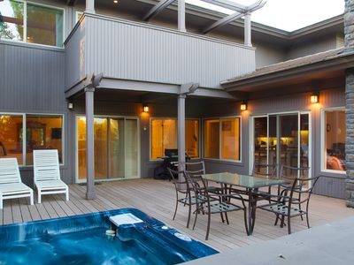 Photo for Villa #5 - Hot Tub, Golf Course Views, Large Deck, Quiet and Peaceful in Broken Top