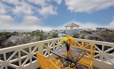 """Photo for Seaside Proper """"Fantasia"""" Gorgeous GULF VIEWS from tower! Relaxing porches!"""