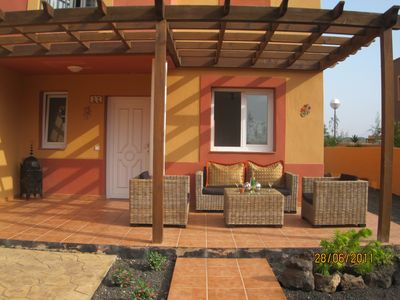 Photo for 3 bed town house in Corralejo, Fuerteventura, Canary Islands