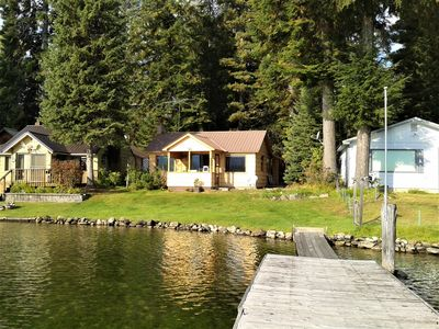 Booked for 2020. Priest Lake Waterfront Cabin with Great View