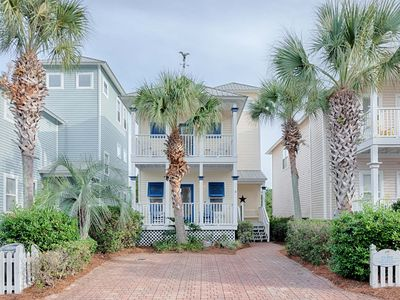 Photo for Beautiful Beach Home- Walk to beach & heated comm pool! 'A Day In The Life'