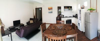 Living area panoramic view