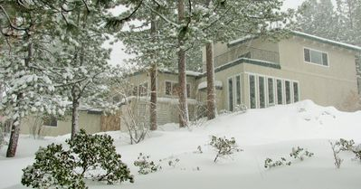 Photo for Spacious Ski House at base of Heavenly w/ Lake & Mtn Views & many Amenities