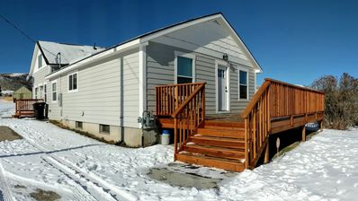 Photo for Completely remodeled cabin in the quiet community of Bern.  Minutes to Bear Lake
