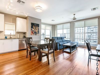 Photo for Luxury 1bd Penthouse w Terrace near French Quarter and Bourbon S