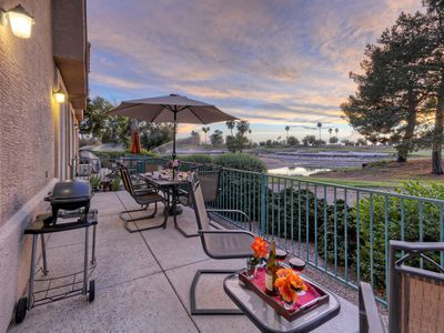 Photo for Superstition Lakes 2 BR Condo; Golf Views; Gated Community w/Heated Pool & Spa