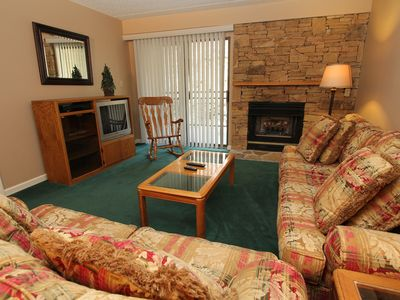 Photo for Spacious two bedroom condo sleeps 6 persons