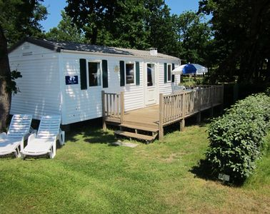 Three bed 'Titania' Mobile Home with decking
