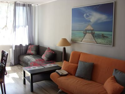 Photo for newly renovated apartment up to 4 people close to the sea and next to the mall