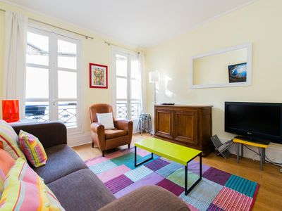Photo for Color Monge apartment in 05ème - Quartier Latin with WiFi & lift.
