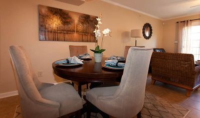 2 Bed Unit Dining Area