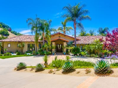 Photo for 4-bedroom Resort-like Home In Exclusive San Diego - Rancho Santa Fe