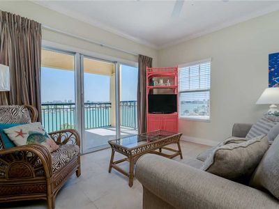 Photo for The Palms of Treasure Island 407, 2 Bedrooms, Pool, WiFi, Jetted Tub, Bay Front, Sleeps 6