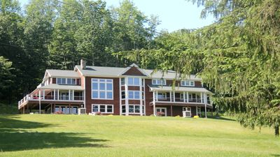 Photo for ROOM102 Luxurious Lakefront Home on Lake Wallenpaupack with Million Dollar Views