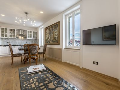 Photo for Brand new, elegant and luxuorious city center apartment with private parking