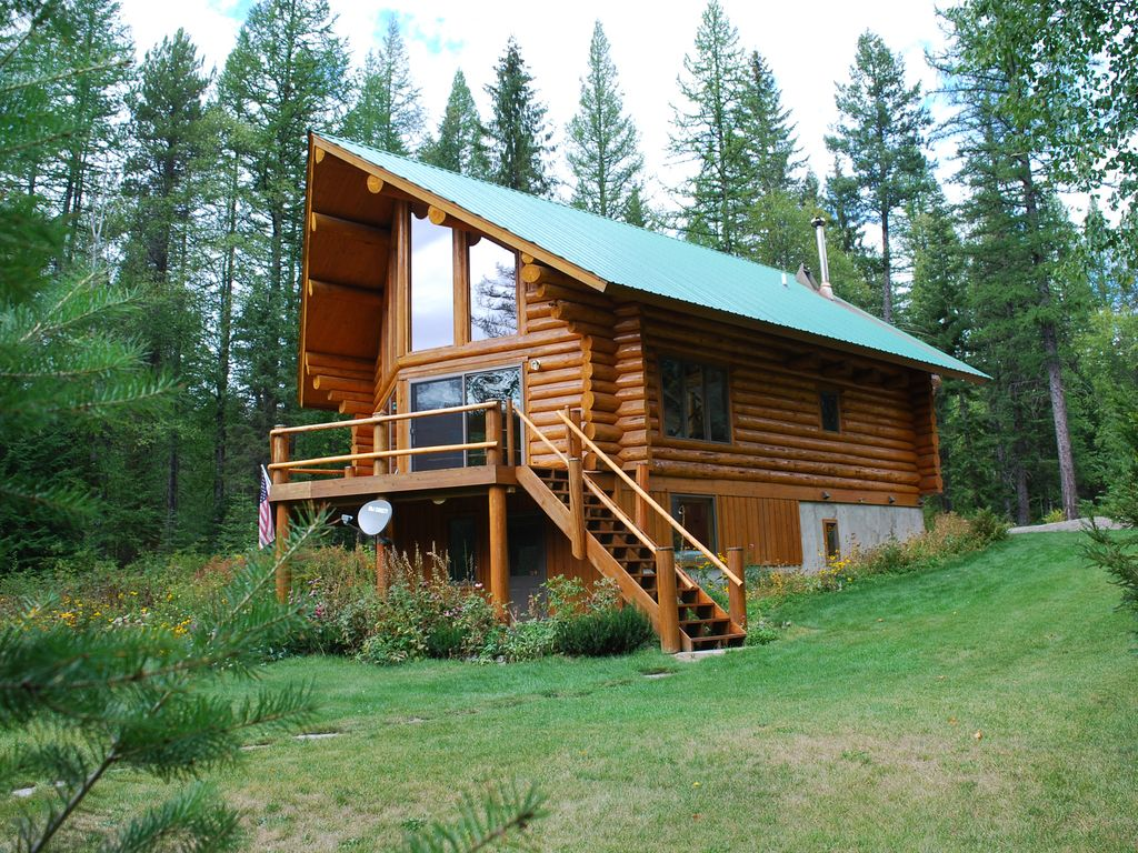 The Log Cabin Experience Near Glacier National Park And
