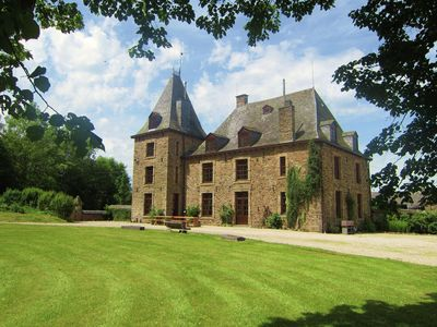 Photo for Wonderful castle with swimming pool and sauna, in a beautiful natural park