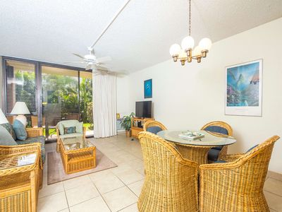 Photo for Comfortable, Casual Condo w/Lanai, Kitchen Ease, WiFi, AC–Kamaole Sands 9108